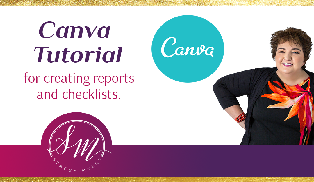 Canva Tutorial: How to Use Canva to Make Reports and Checklists